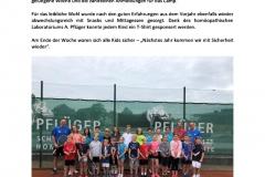 Sommercamp-Zeitungsartikel